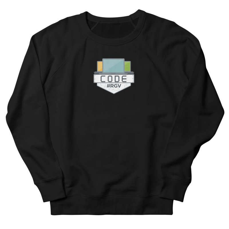 CodeRGV Men's French Terry Sweatshirt by CodeRGV's Artist Shop