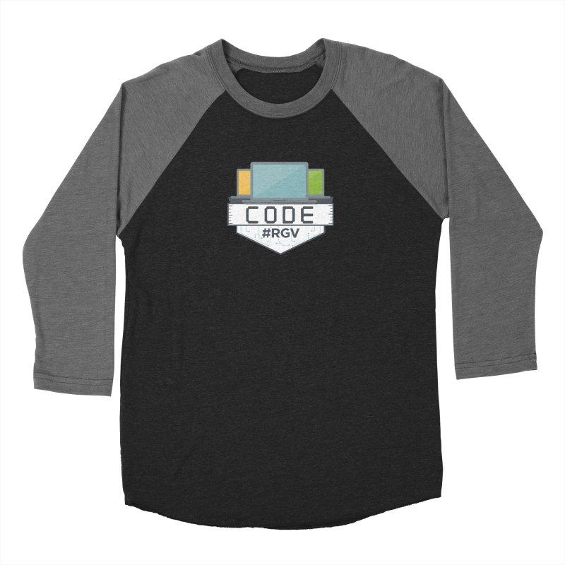 CodeRGV Women's Baseball Triblend Longsleeve T-Shirt by CodeRGV's Artist Shop