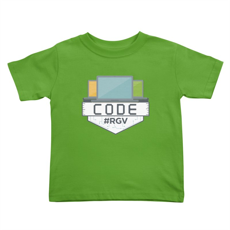 CodeRGV Kids Toddler T-Shirt by CodeRGV's Artist Shop