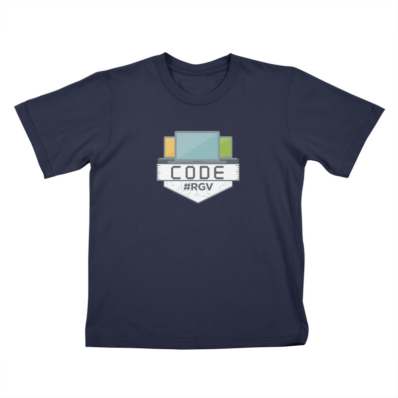 CodeRGV Kids T-Shirt by CodeRGV's Artist Shop