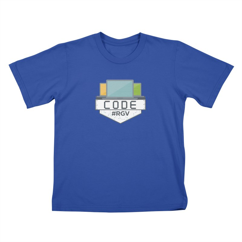 CodeRGV Kids T-Shirt by CodeRGV's Artist Shop