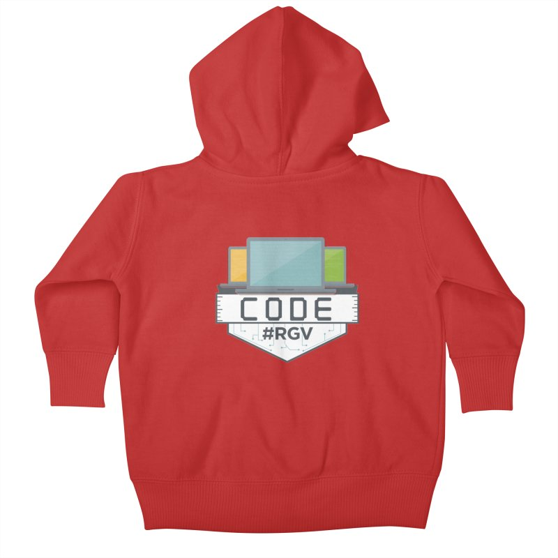 CodeRGV Kids Baby Zip-Up Hoody by CodeRGV's Artist Shop