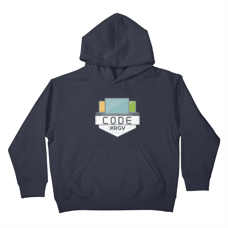 CodeRGV Kids Pullover Hoody by CodeRGV's Artist Shop