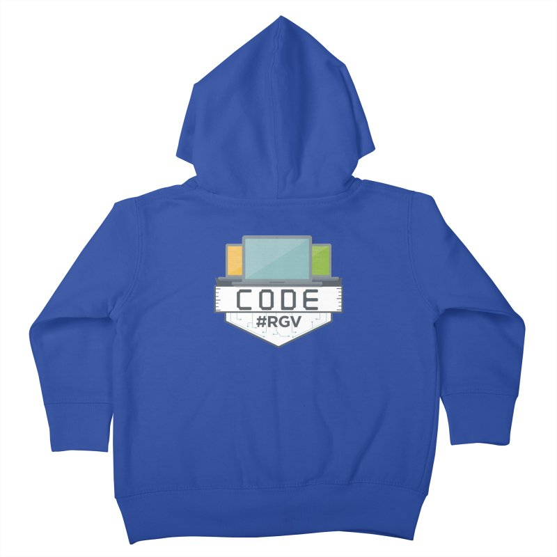 CodeRGV Kids Toddler Zip-Up Hoody by CodeRGV's Artist Shop