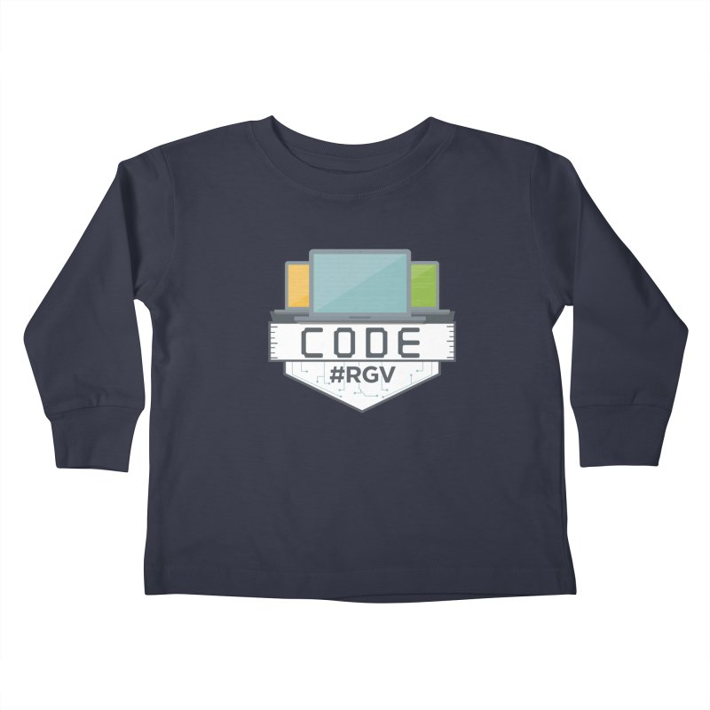 CodeRGV Kids Toddler Longsleeve T-Shirt by CodeRGV's Artist Shop