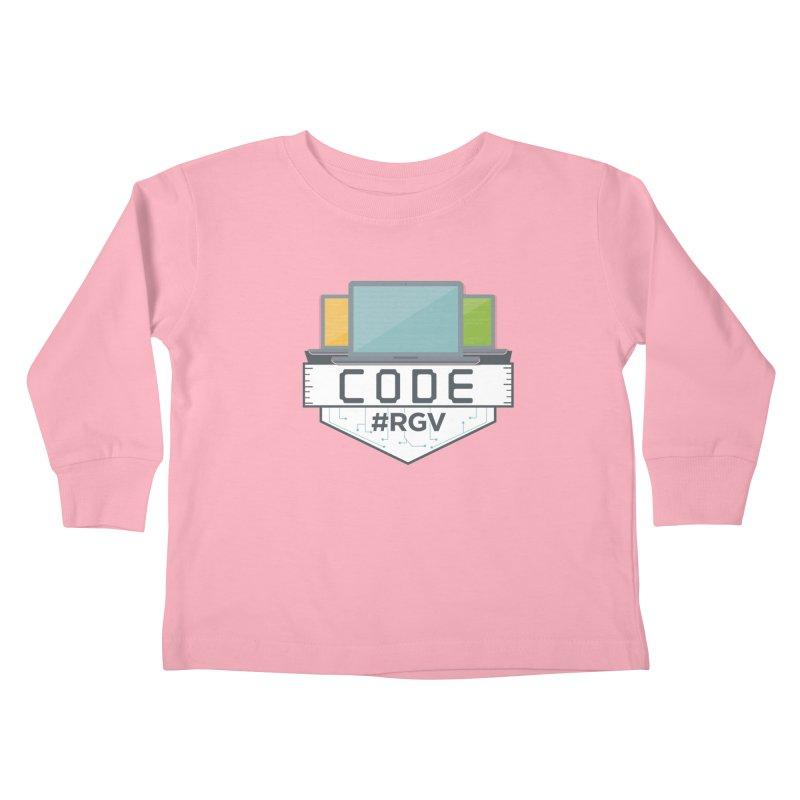 CodeRGV Kids Toddler Longsleeve T-Shirt by CodeRGV's Artist Shop