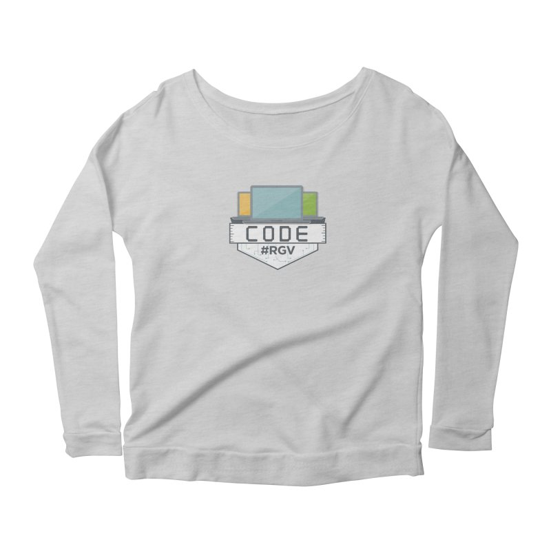 CodeRGV Women's Scoop Neck Longsleeve T-Shirt by CodeRGV's Artist Shop