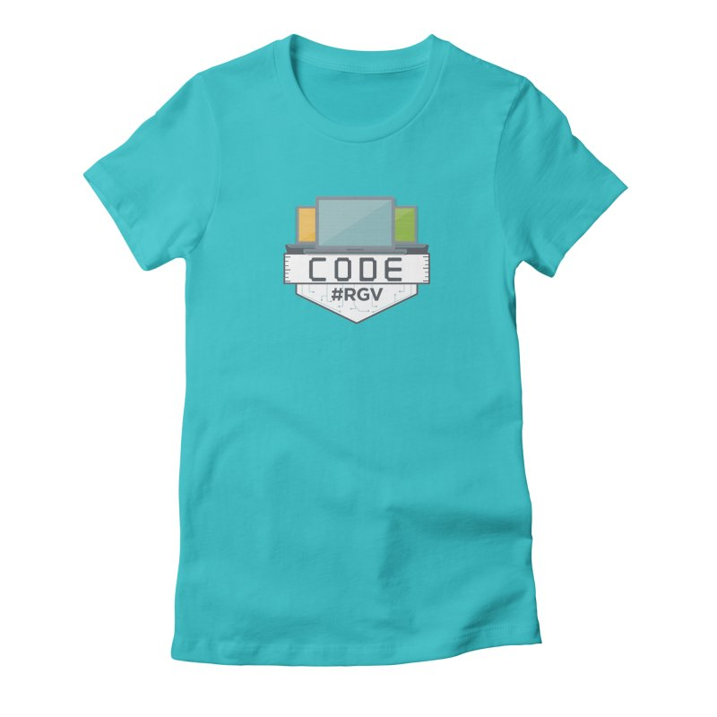 CodeRGV Women's Fitted T-Shirt by CodeRGV's Artist Shop