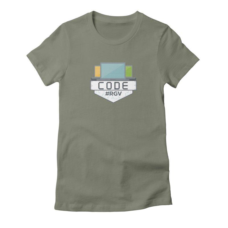 CodeRGV Women's Fitted T-Shirt by CodeRGV's Artist Shop