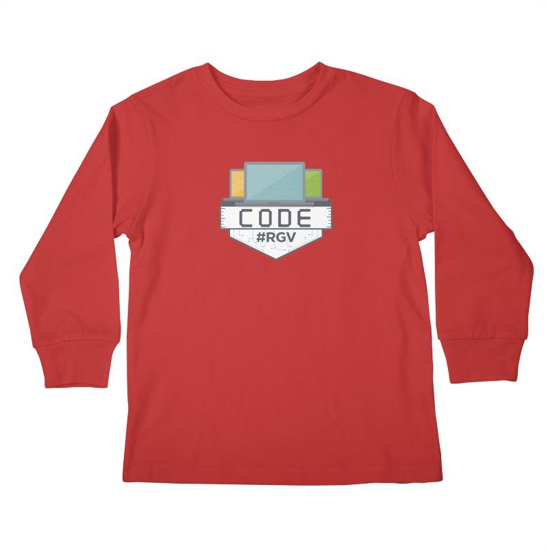 CodeRGV Kids Longsleeve T-Shirt by CodeRGV's Artist Shop