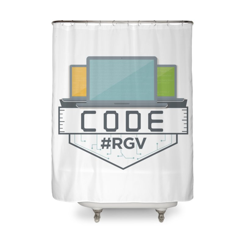 CodeRGV Home Shower Curtain by CodeRGV's Artist Shop