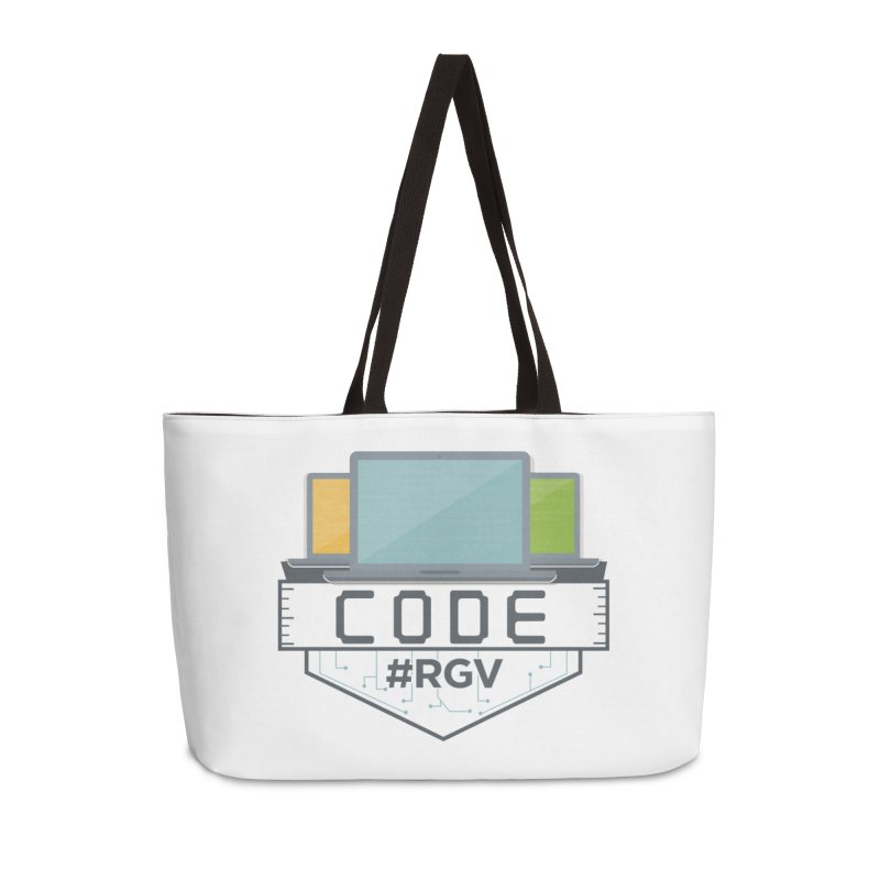 CodeRGV Accessories Weekender Bag Bag by CodeRGV's Artist Shop