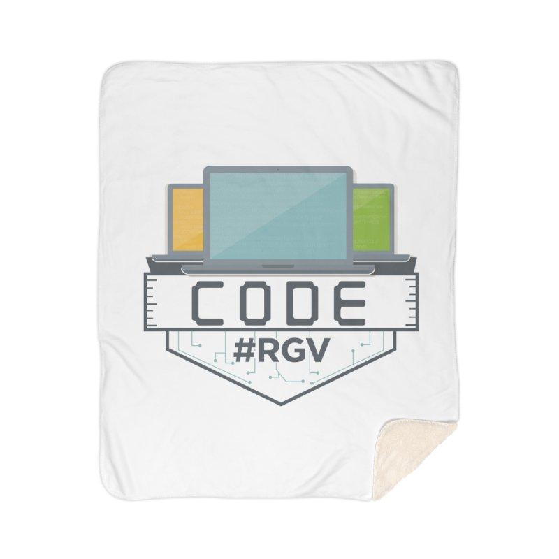 CodeRGV Home Sherpa Blanket Blanket by CodeRGV's Artist Shop