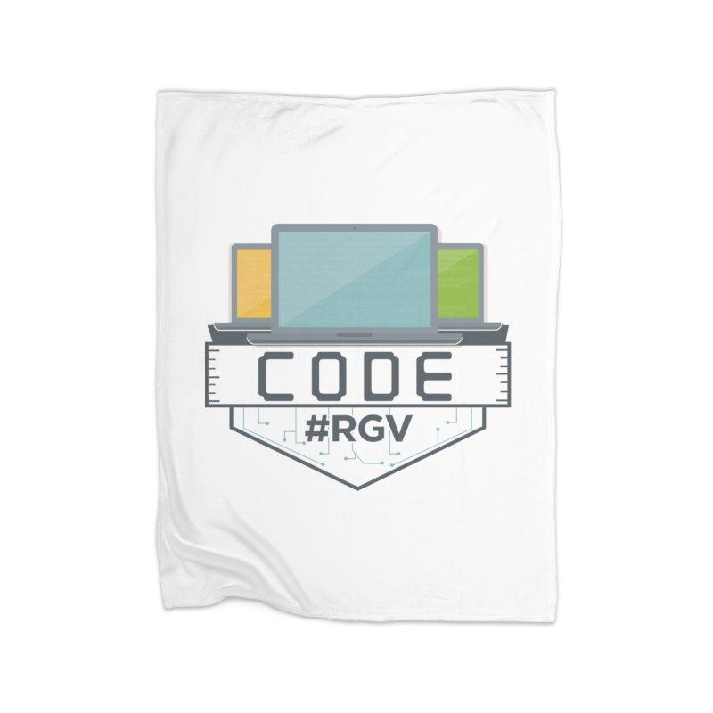 CodeRGV Home Fleece Blanket Blanket by CodeRGV's Artist Shop