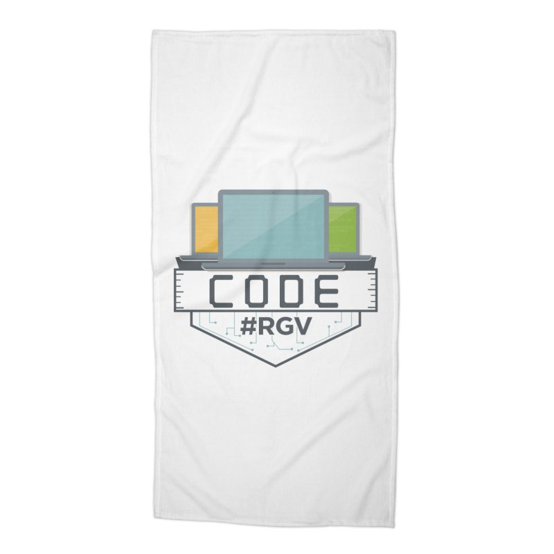 CodeRGV Accessories Beach Towel by CodeRGV's Artist Shop