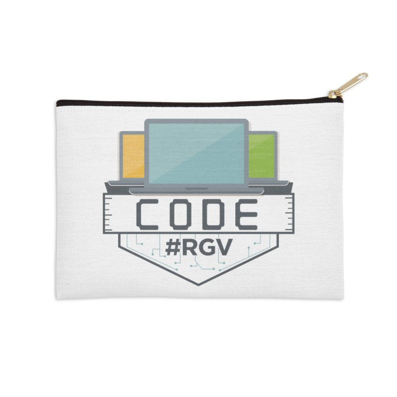 CodeRGV Accessories Zip Pouch by CodeRGV's Artist Shop