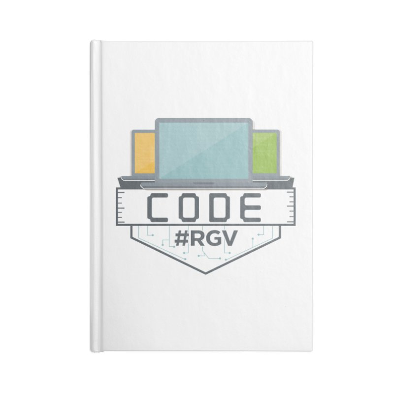 CodeRGV Accessories Blank Journal Notebook by CodeRGV's Artist Shop