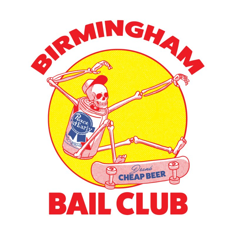 Birmingham Bail Club by codeyrichards's Artist Shop