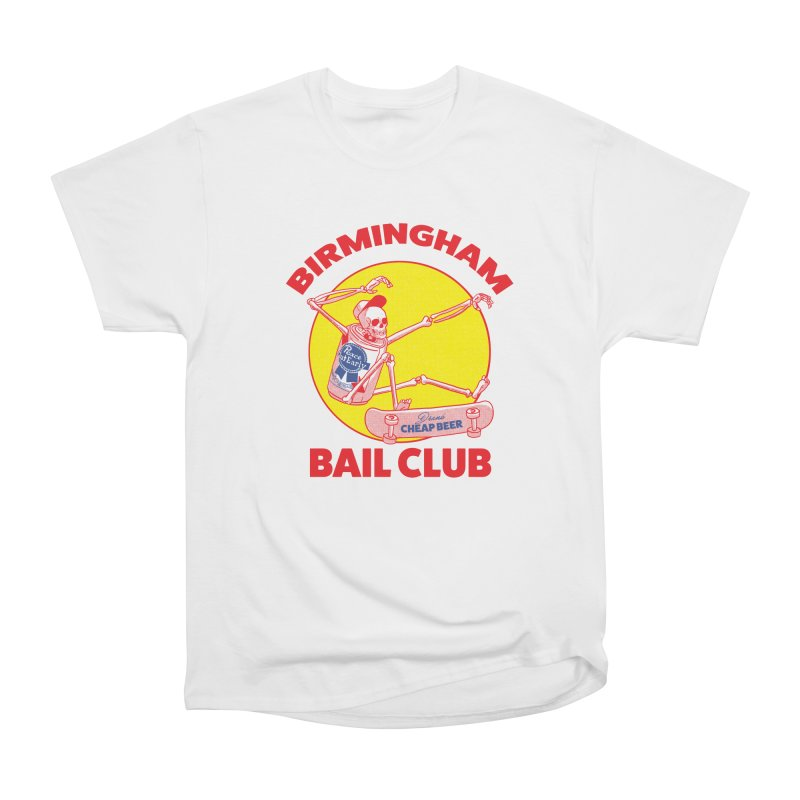 Birmingham Bail Club Women's Heavyweight Unisex T-Shirt by codeyrichards's Artist Shop