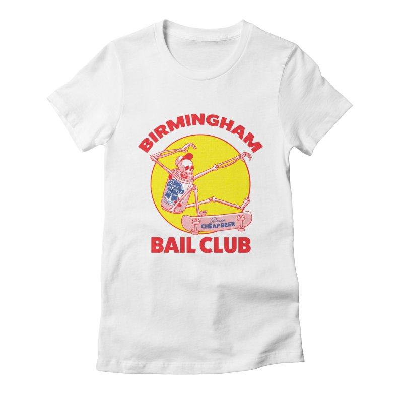 Birmingham Bail Club Women's Fitted T-Shirt by codeyrichards's Artist Shop