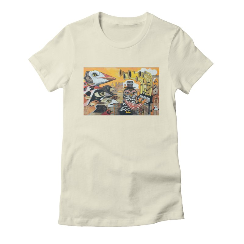 Migration Commemoration Women's Fitted T-Shirt by Cody F. Miller's Artist Shop