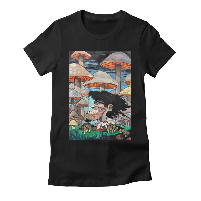 Nebumorphosis Women's Fitted T-Shirt by Cody F. Miller's Artist Shop