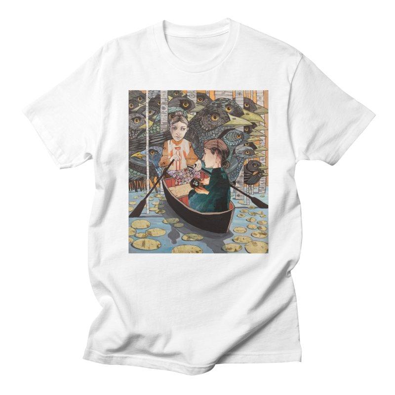 39b54205f8cdc3 Ruth and Naomi Crossing the Jordan Men's T-Shirt by Cody F. Miller's Artist