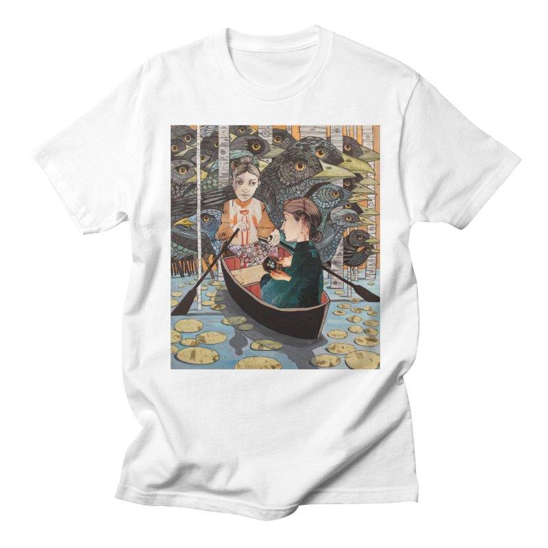 Ruth and Naomi Crossing the Jordan Men's T-Shirt by Cody F. Miller's Artist Shop