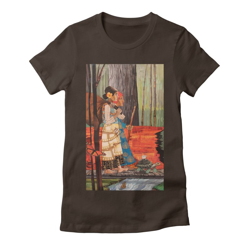 Ruth and Naomi Women's Fitted T-Shirt by Cody F. Miller's Artist Shop
