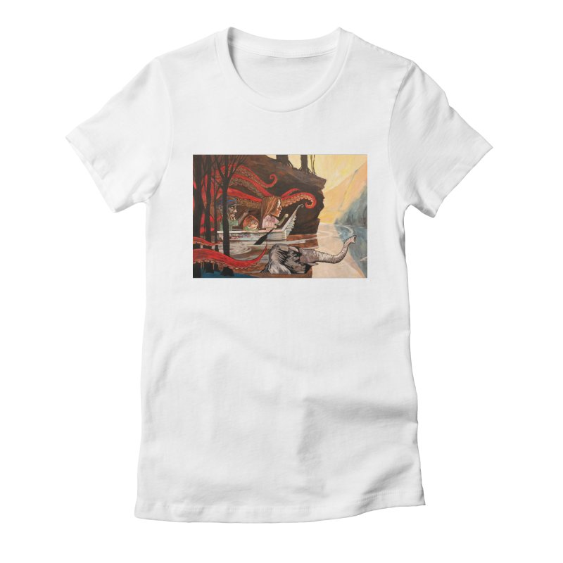 Sojourners Women's Fitted T-Shirt by Cody F. Miller's Artist Shop