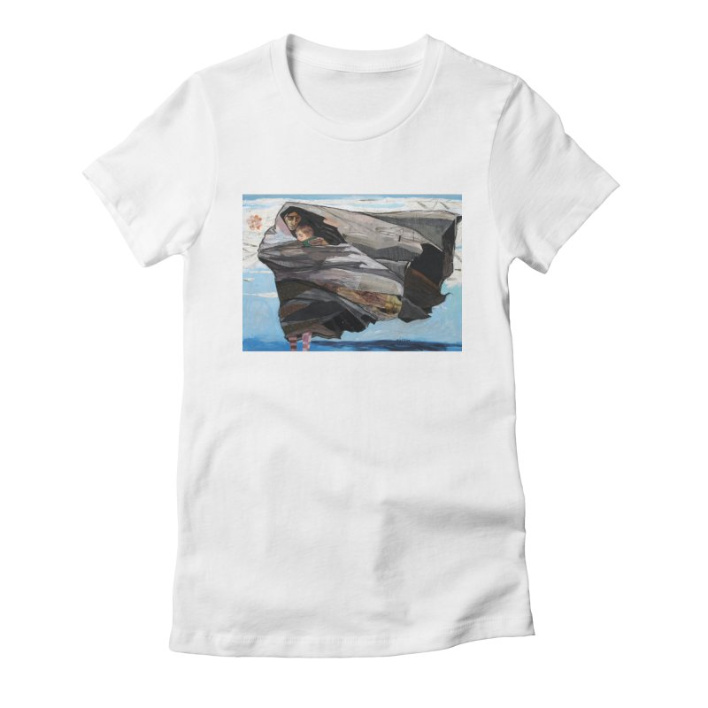 Stand Women's Fitted T-Shirt by Cody F. Miller's Artist Shop