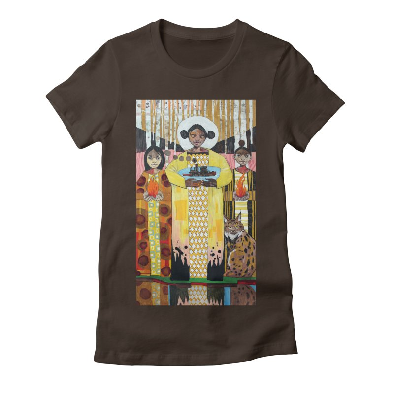Sustained Women's Fitted T-Shirt by Cody F. Miller's Artist Shop