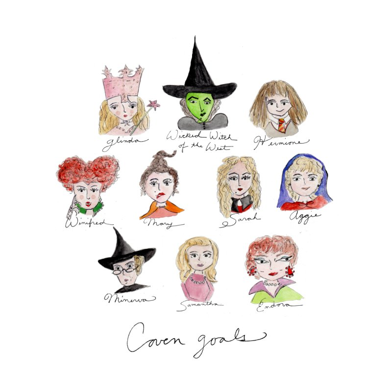 Coven Goals by Coffee and Maps's Artist Shop
