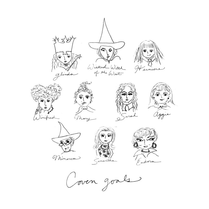 Coven Girls 2 by Coffee and Maps's Artist Shop