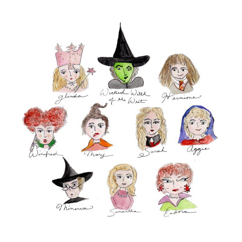 Coven Girls by Coffee and Maps's Artist Shop
