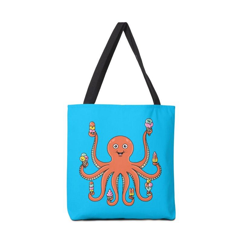Octopus Accessories Tote Bag Bag by coffeeman's Artist Shop