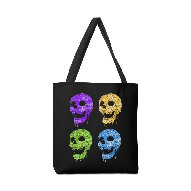 Skulls Accessories Tote Bag Bag by coffeeman's Artist Shop