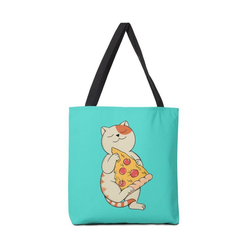Cat Accessories Tote Bag Bag by coffeeman's Artist Shop