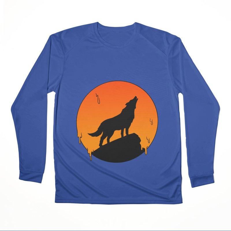 Wolf Women's Performance Unisex Longsleeve T-Shirt by coffeeman's Artist Shop