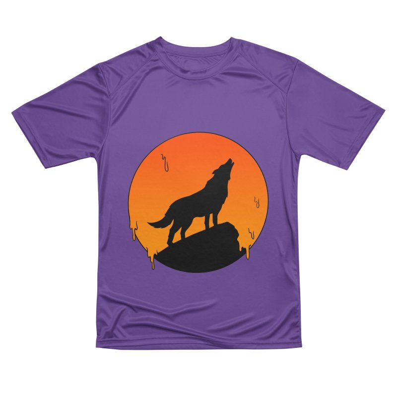 Wolf Men's Performance T-Shirt by coffeeman's Artist Shop