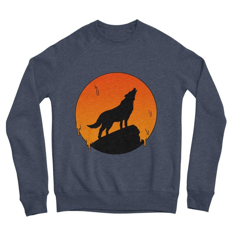 Wolf Women's Sponge Fleece Sweatshirt by coffeeman's Artist Shop