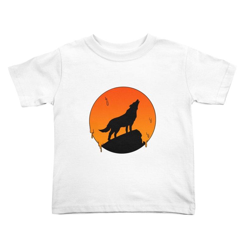 Wolf Kids Toddler T-Shirt by coffeeman's Artist Shop