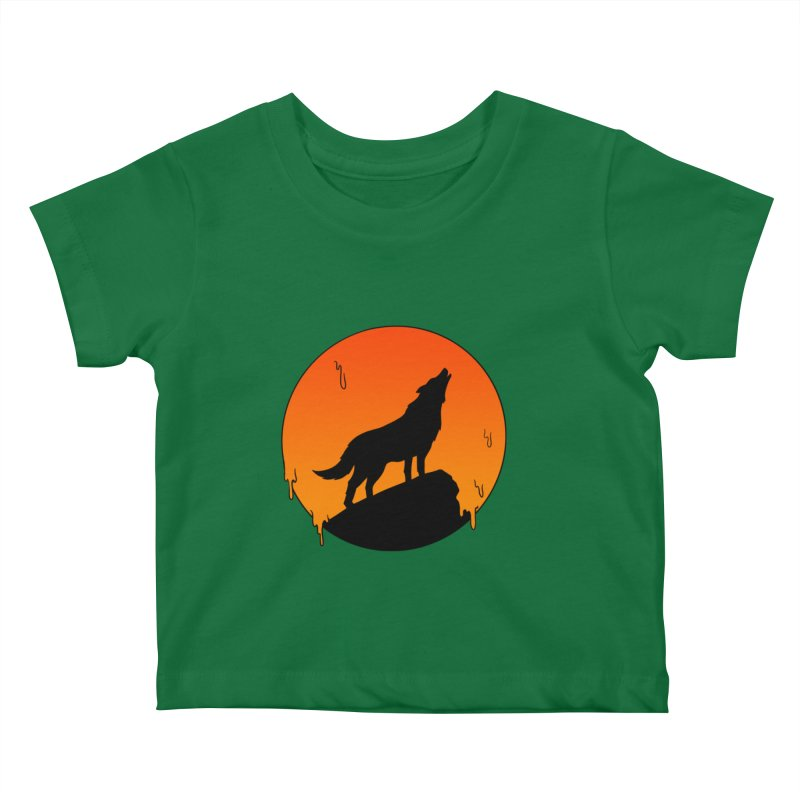 Wolf Kids Baby T-Shirt by coffeeman's Artist Shop