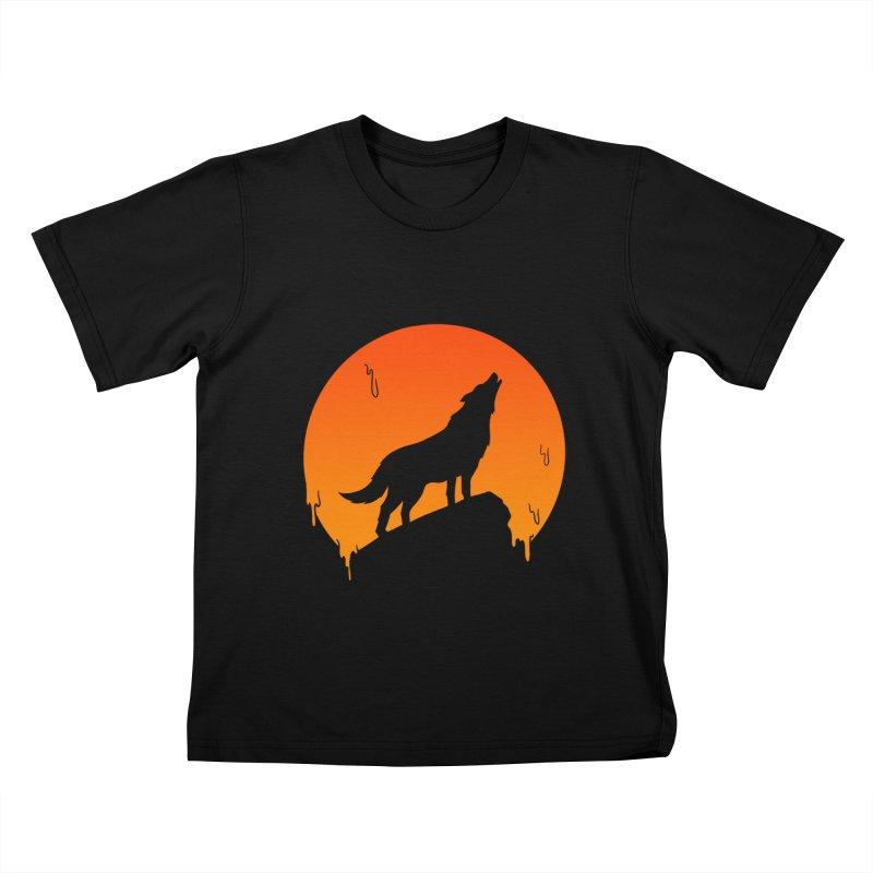 Wolf Kids T-Shirt by coffeeman's Artist Shop