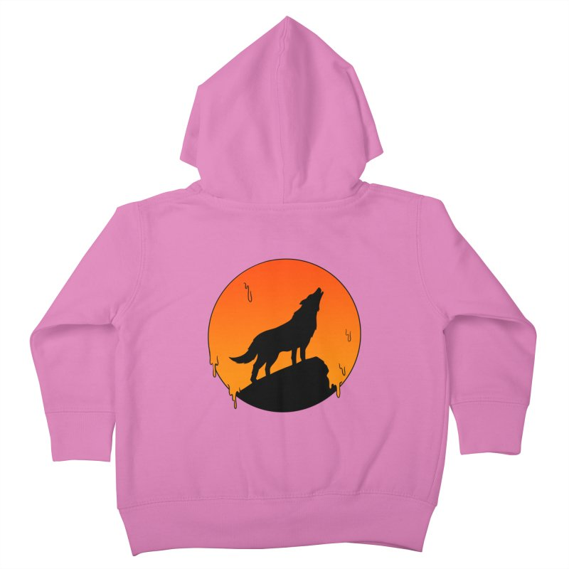 Wolf Kids Toddler Zip-Up Hoody by coffeeman's Artist Shop