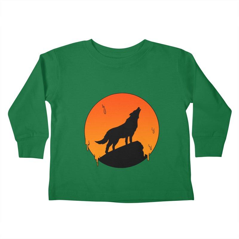 Wolf Kids Toddler Longsleeve T-Shirt by coffeeman's Artist Shop