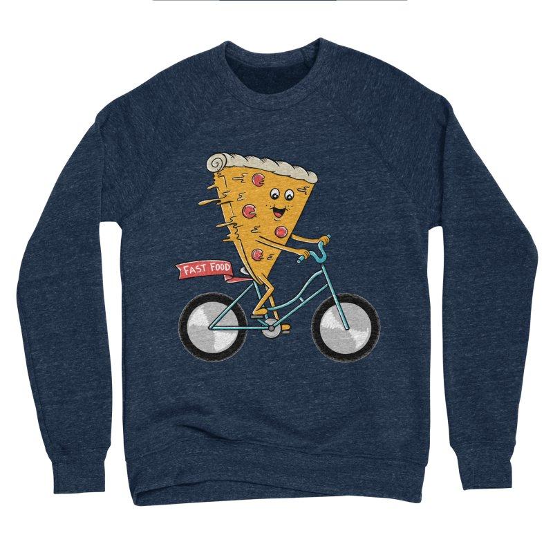 Bicycle Men's Sponge Fleece Sweatshirt by coffeeman's Artist Shop