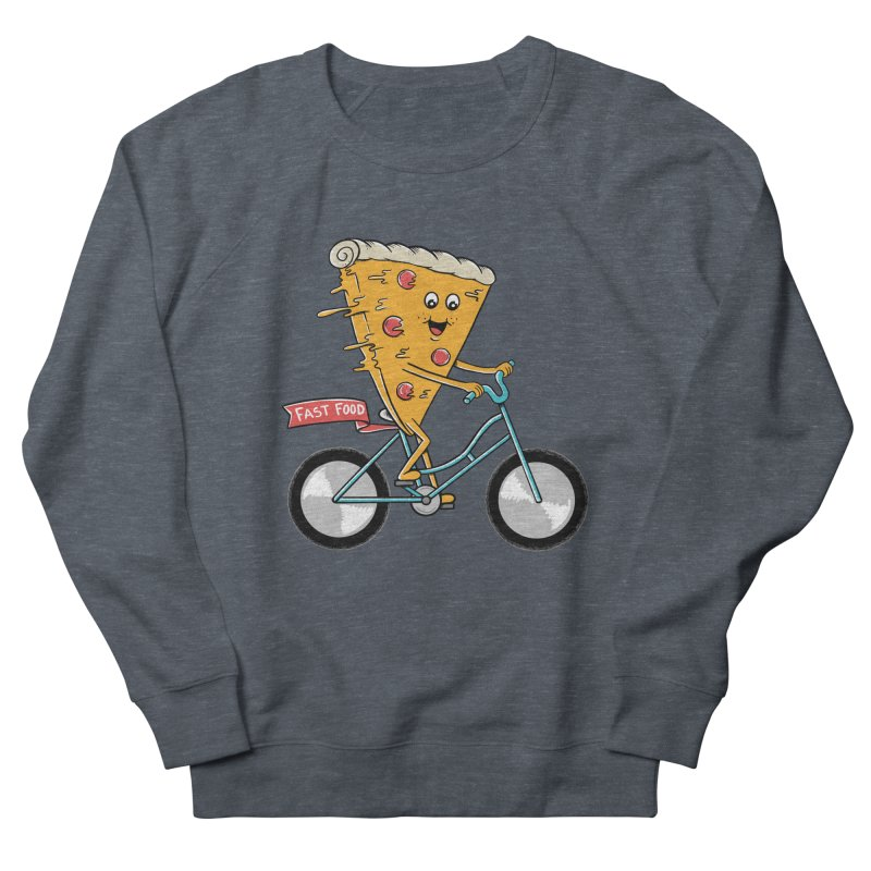 Bicycle Women's French Terry Sweatshirt by coffeeman's Artist Shop