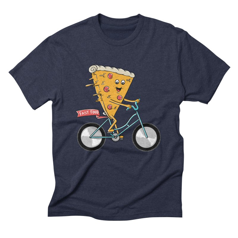 Bicycle Men's Triblend T-Shirt by coffeeman's Artist Shop