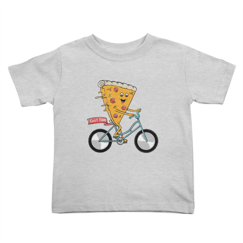 Bicycle Kids Toddler T-Shirt by coffeeman's Artist Shop